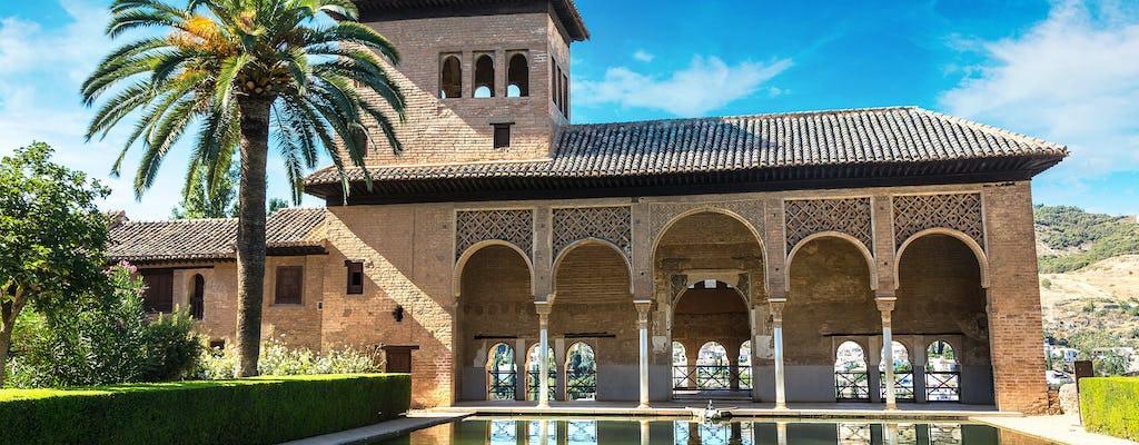 Visite guidée l'après-midi de l'Alhambra avec billets coupe-file et transport en option
