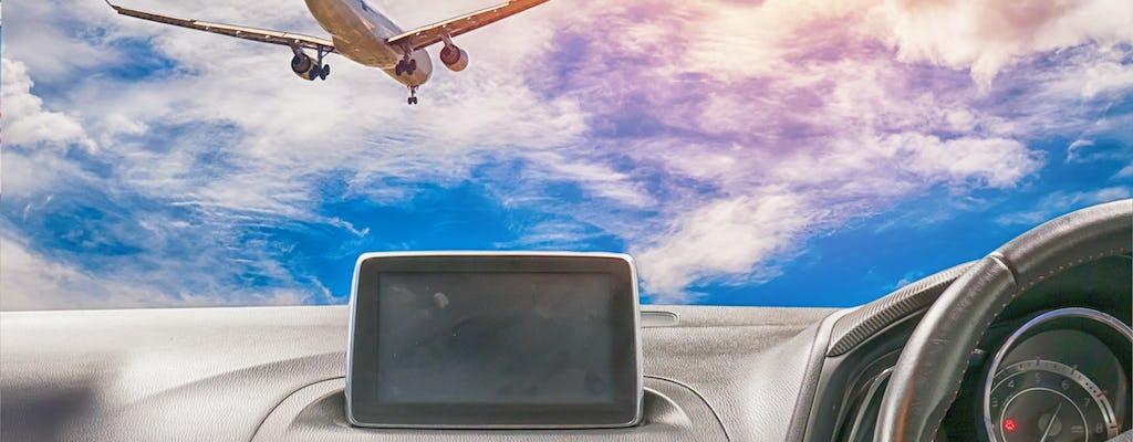Traslado privado desde el aeropuerto internacional de Dubai.