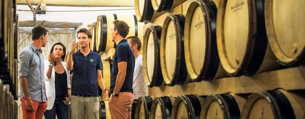 Champagne-reis naar Moët en Chandon, inclusief familiewijnmakerij en lunch vanuit Reims