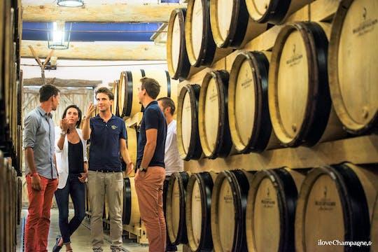 Viagem de champagne para a Moët & Chandon, incluindo vinícola da família e almoço de Reims