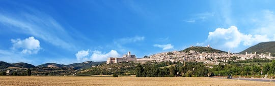 Assisi treasures and St. Francis Wood tour