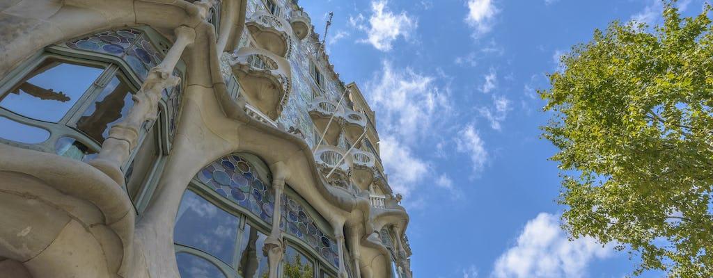 Entradas blue para a  Casa Batlló