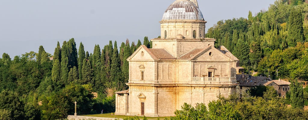 Tickets to the Temple of San Biagio in Montepulciano