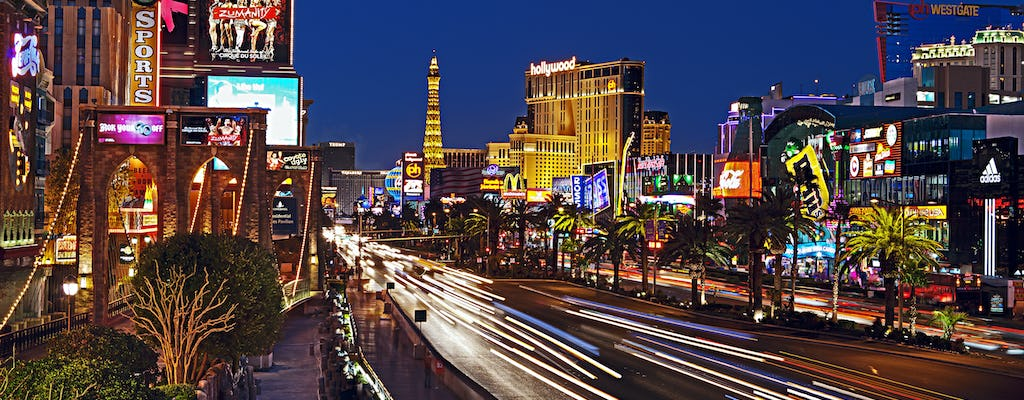 Champagne Night Tour di Las Vegas