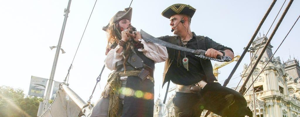 Desayuno pirata en barco