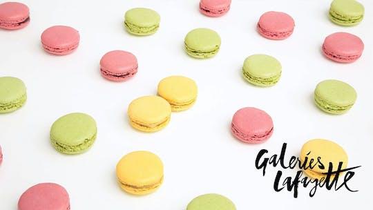 Clase de elaboración de macarons franceses en las Galerías Lafayette