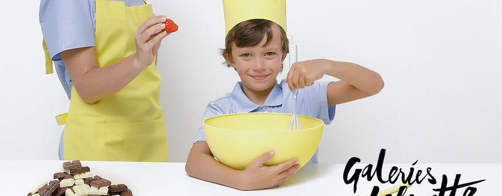 Clase de pastelería para niños: macarons
