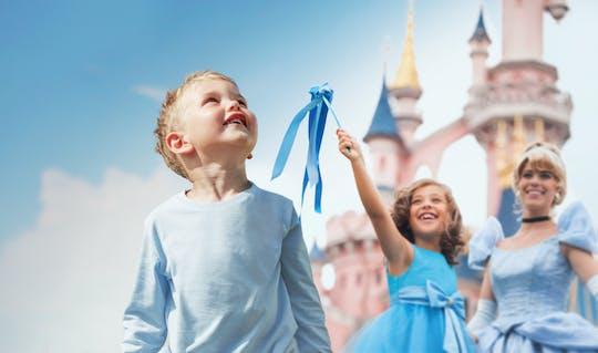 Bilet do 1 parku Disneyland® Paris z transportem z Paryża