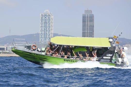 Adrenalina 360º wycieczka łodzią na plażę