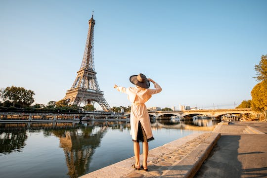 Audioguided tour of the Eiffel Tower with cruise ticket