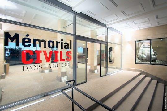 Bilety wstępu do Muzeum Cywilów w Muzeum Wojny w Falaise