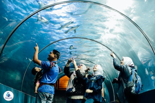 Bilhete E-Ticket Underwater World Langkawi
