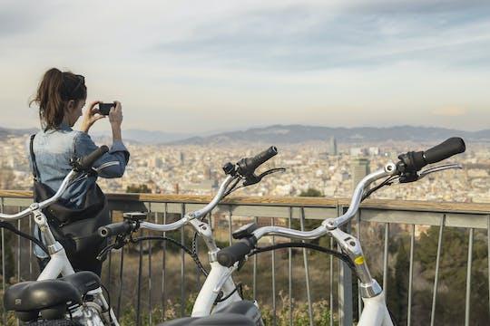 Panoramiczna wycieczka e-rowerem na Montjuïc w Barcelonie