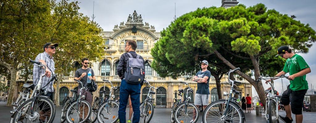 Barcelona highlights city bike tour