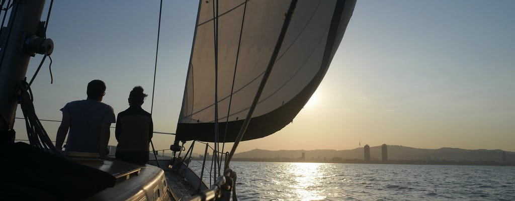 Sailing and swimming experience in Barcelona