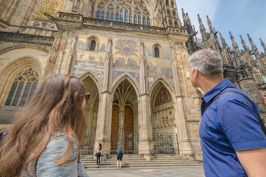 Prague Castle skip-the-line tickets and minibus transfer