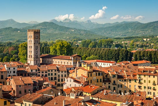 Food and wine tour in the Tuscan countryside from Lucca