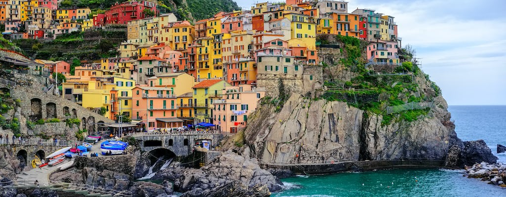Cinque Terre day tour from Lucca