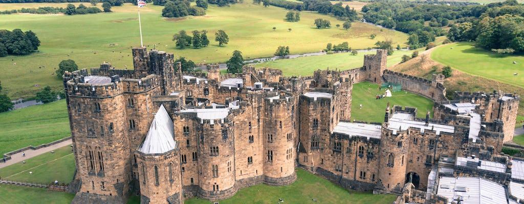 Excursión de un día al castillo de Alnwick y a la campiña fronteriza