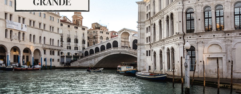 Tour del Canal Grande con audio-guida e app