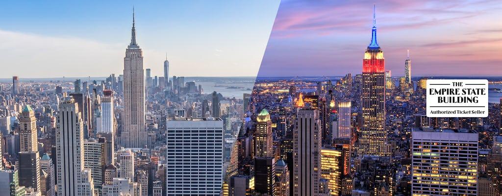 Esperienza giorno e notte all'Empire State Building