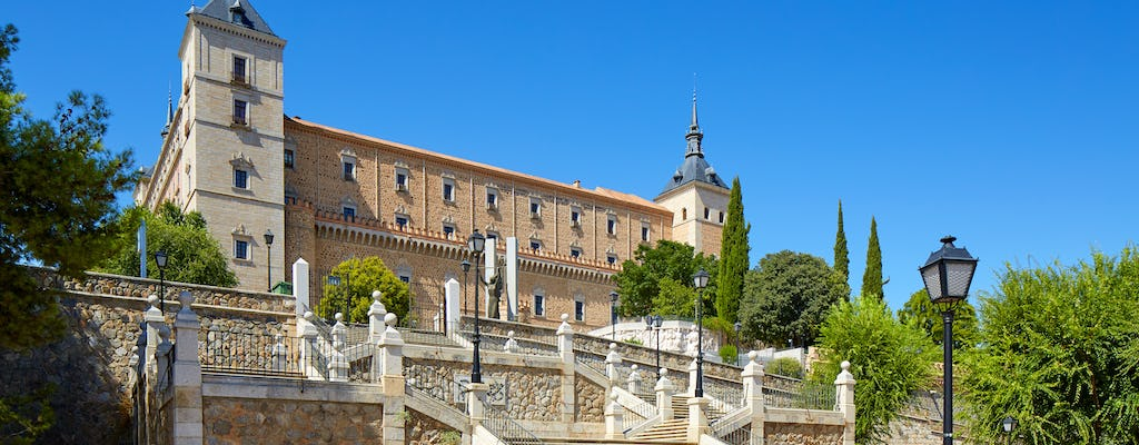 Alcazar of Toledo tickets and guided visit