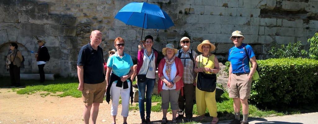 Walking sightseeing tour of Split