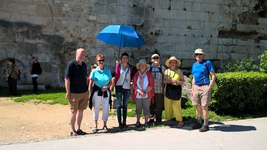 Walking sightseeing tour of Split