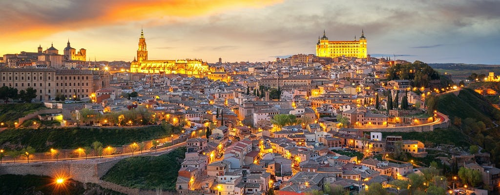 A magical night in Toledo guided walking tour