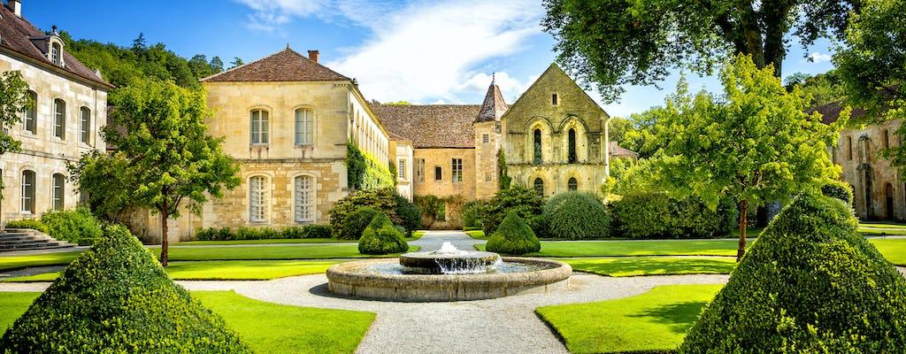 Excursion d'une journée de Paris à Vézelay, l'abbaye de Fontenay et Noyers-sur-Sereins