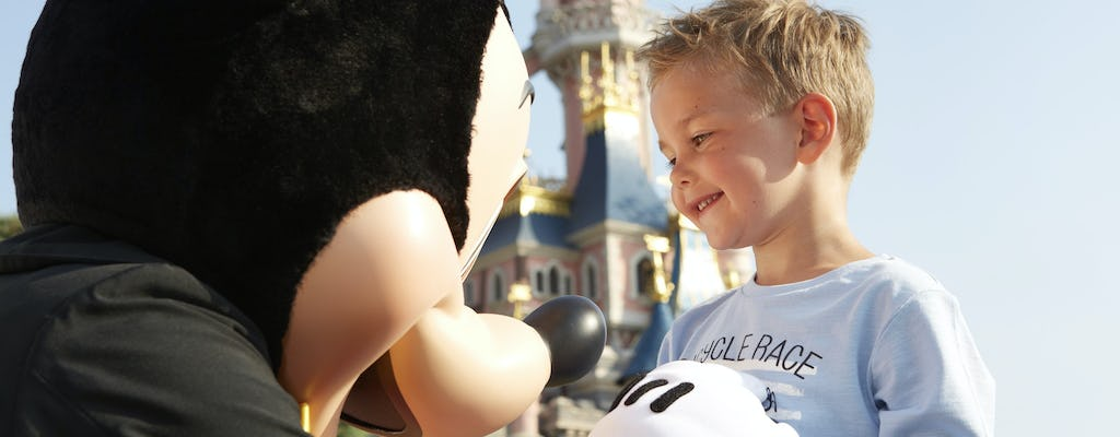 Disneyland® Paris 1 day 1 Park tickets with shuttle from the Eiffel Tower at 8.10am