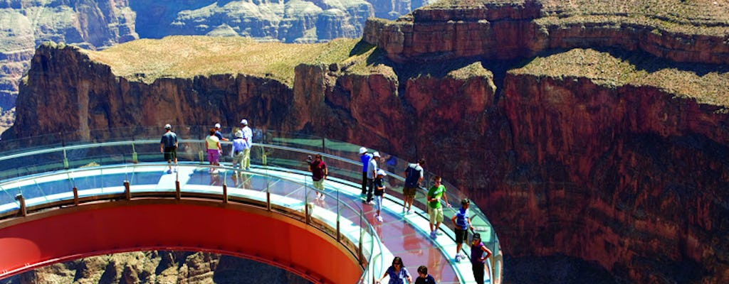Skywalk Odyssey Grand Canyon helicopter tour vanuit Las Vegas