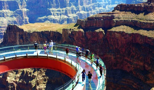 Skywalk Odyssey Grand Canyon helicopter tour from Las Vegas