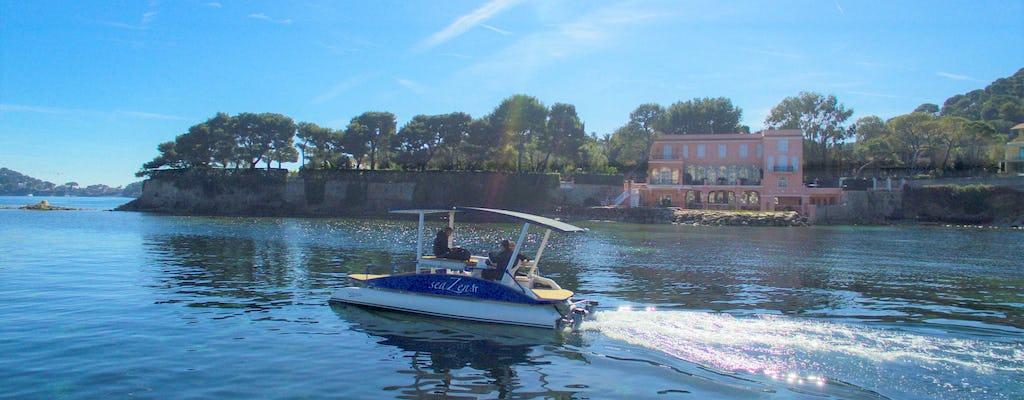 Croisière en bateau solaire sur la Côte d'Azur