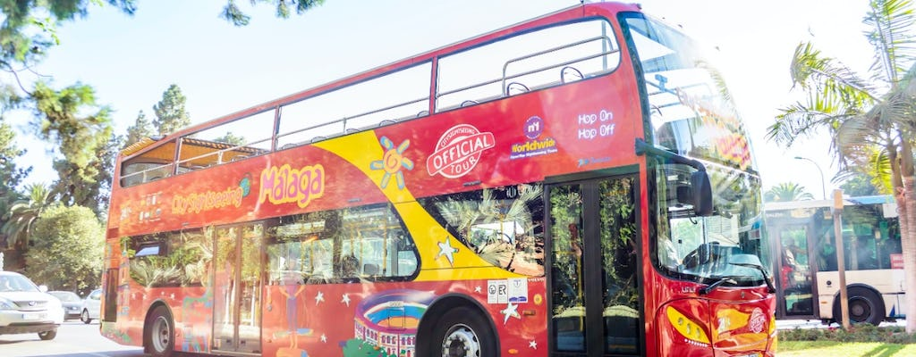 Hop-On Hop-Off Malaga Bus with Interactive Museum of Music (MIMMA)