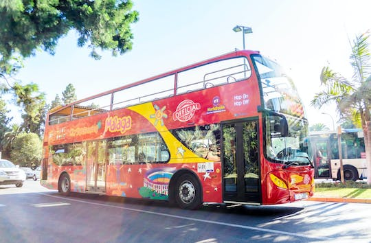Hop-on hop-off Malaga-bus met interactief muziekmuseum (MIMMA)