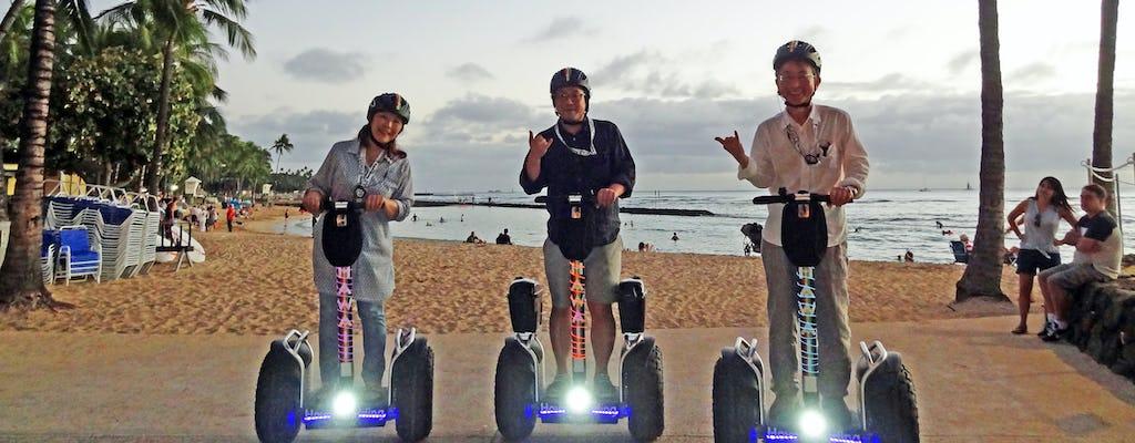 Waikiki sunset hoverboarding tour to Diamond Head and Kapiolani Park