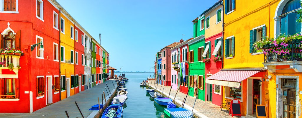 Descubra as gemas da Lagoa: as ilhas Murano e Burano