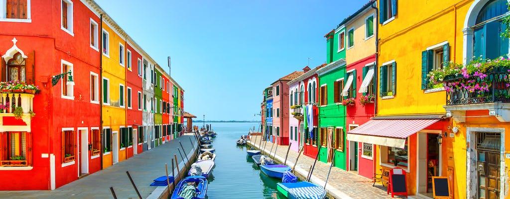 Excursión de un día a Murano, Burano y Torcello