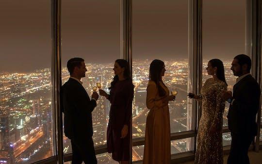 Bilhetes Burj Khalifa e experiência The Lounge