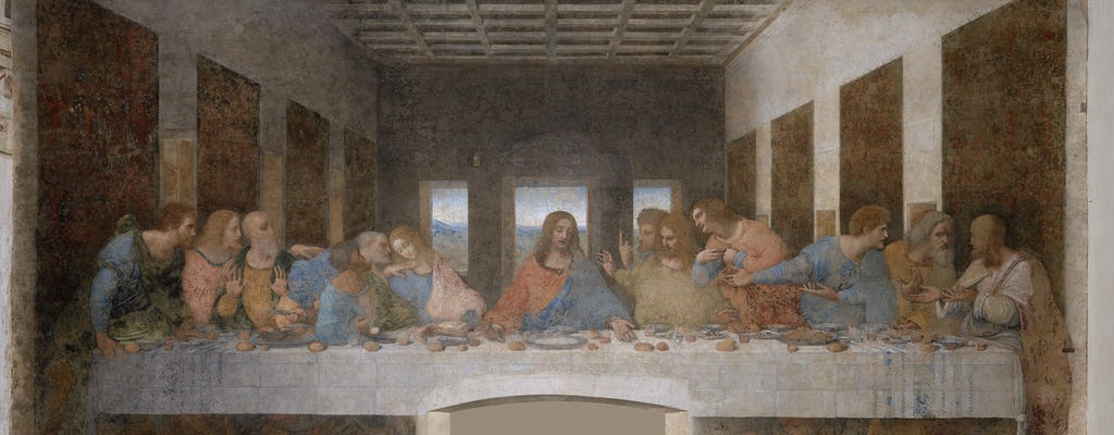 Last Supper and San Maurizio Church guided tour