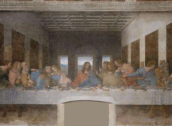 Last Supper and San Maurizio Church guided tour