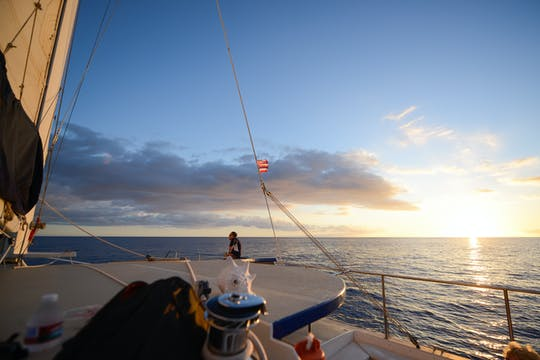 Hawaii-Katamaran-Sonnenuntergangsausflug