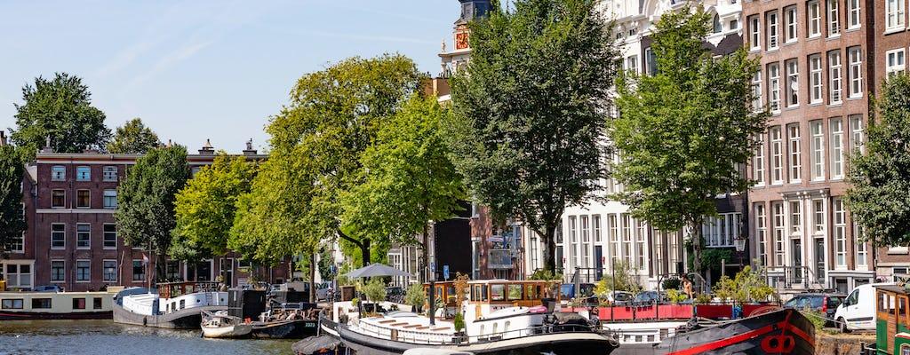 Cruzeiro pelos canais da cidade de Amsterdã