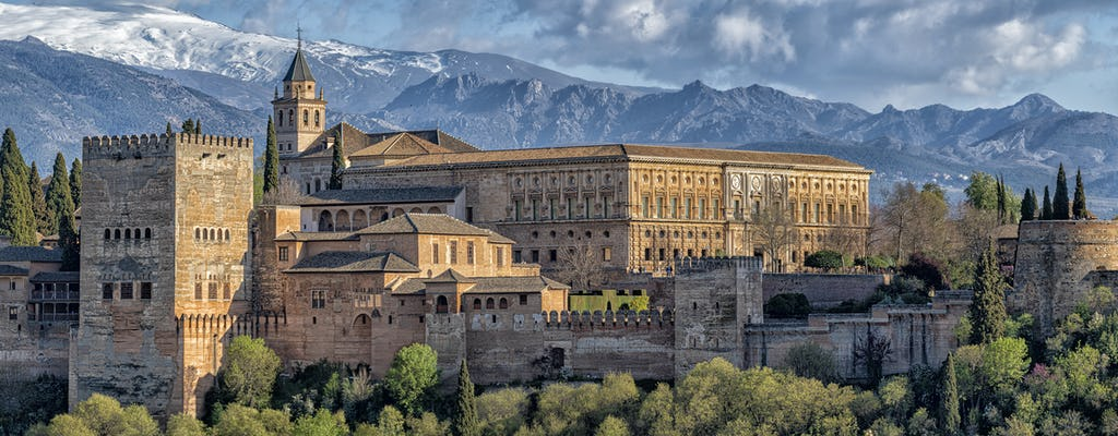 Visite guidée de l'Alhambra, du palais Charles Quint, du Generalife et de l'Alcazaba avec accès prioritaire