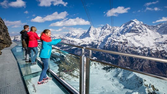 Aerial cableway ticket to Schilthorn Piz Gloria  from Stechelberg