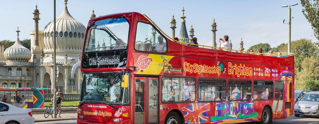 City Sightseeing hop-on hop-off wycieczka autobusowa po Brighton