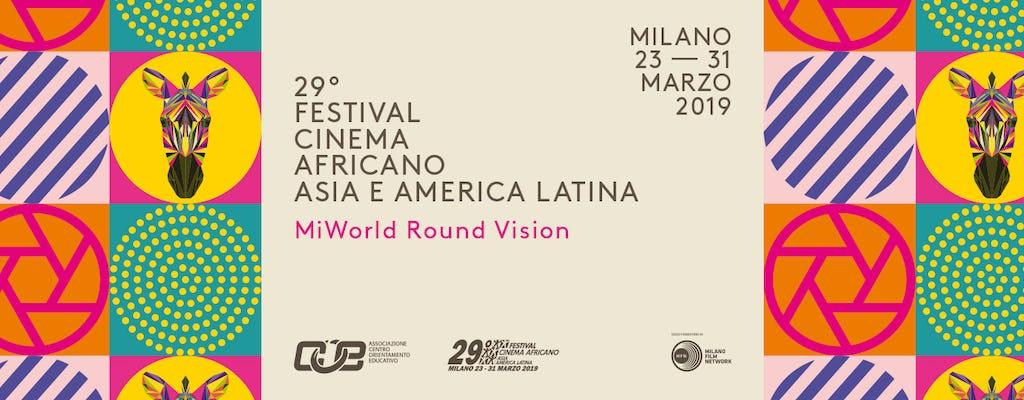 Biglietti per il Festival del Cinema Africano, Asia e America Latina