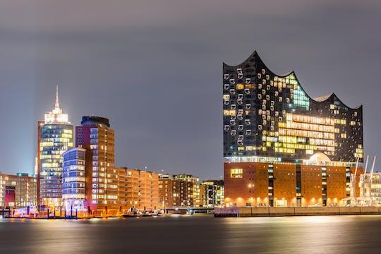 Abendliche Hamburger Hafenrundfahrt von Rainer Abicht Elbreederei