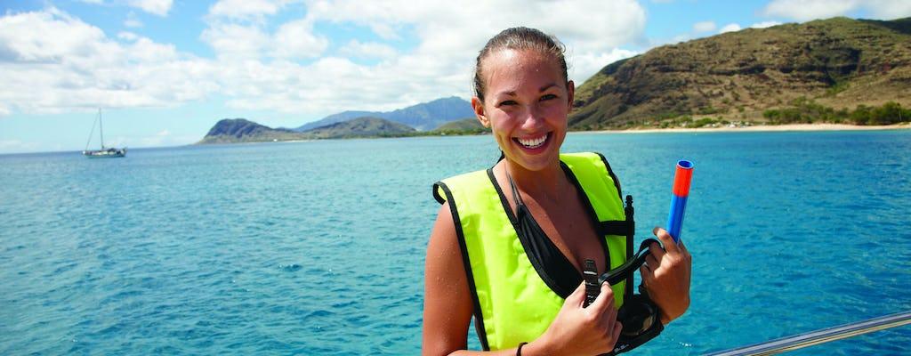 Waikiki zeil- en snorkelervaring met schildpadden